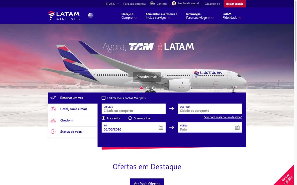 Companhia Aérea Latam – como comprar passagens online para o mundo