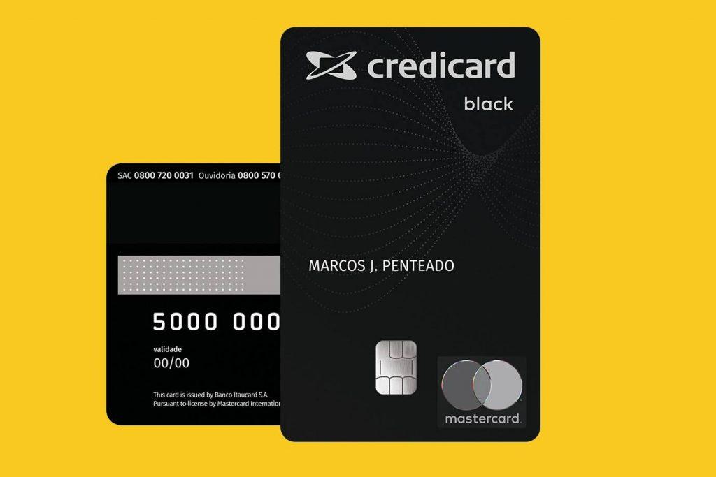 Credicard Black – um dos únicos que acumula 5 pontos para cada dólar gasto 1