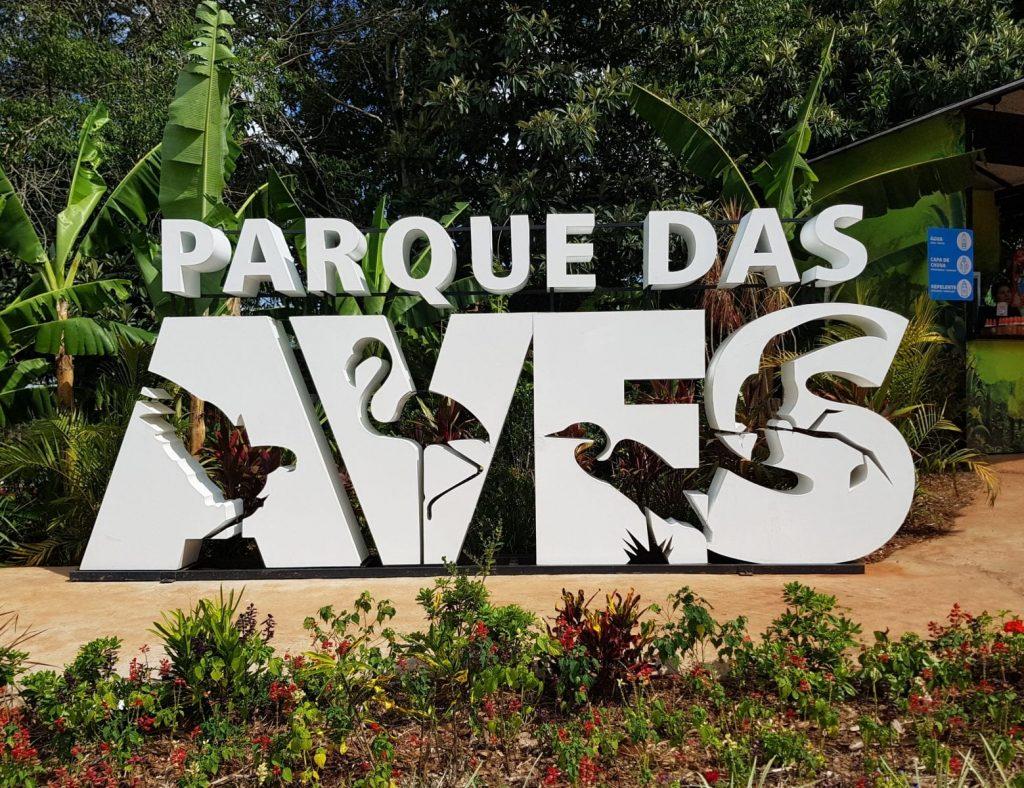 Parque das Aves é opção de turismo para as férias de julho