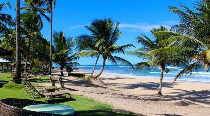 melhores praias do sul da Bahia