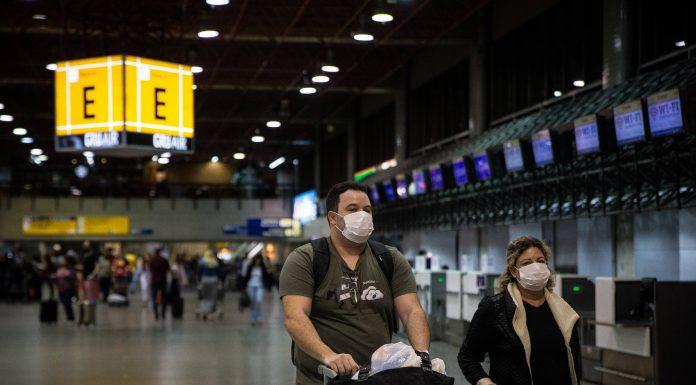 Cancelamento de viagem ao exterior