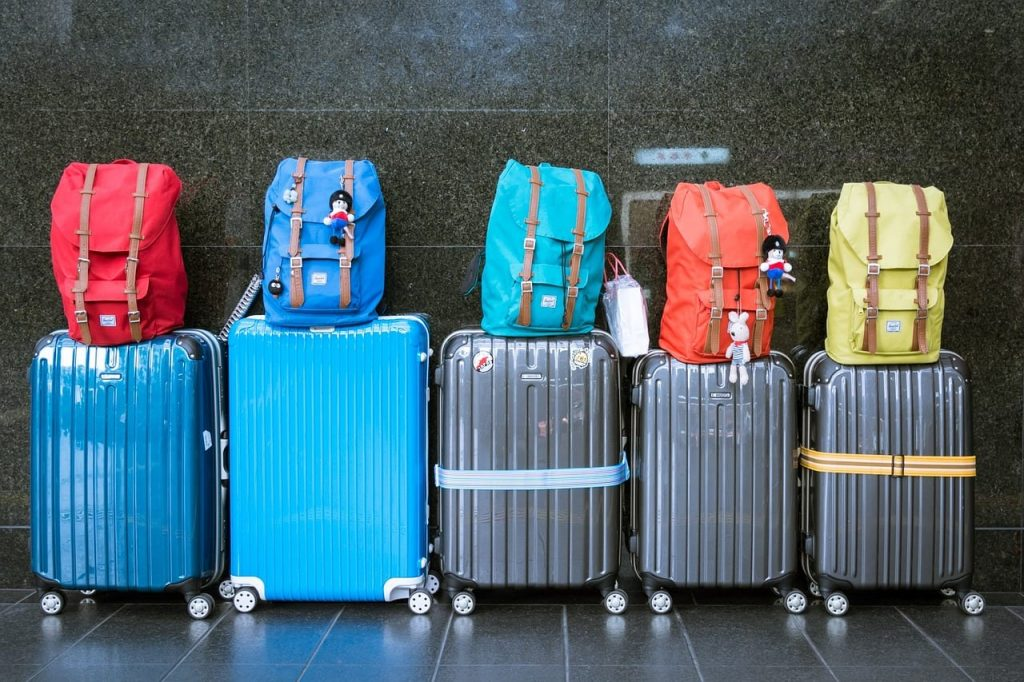 nova mala de viagem