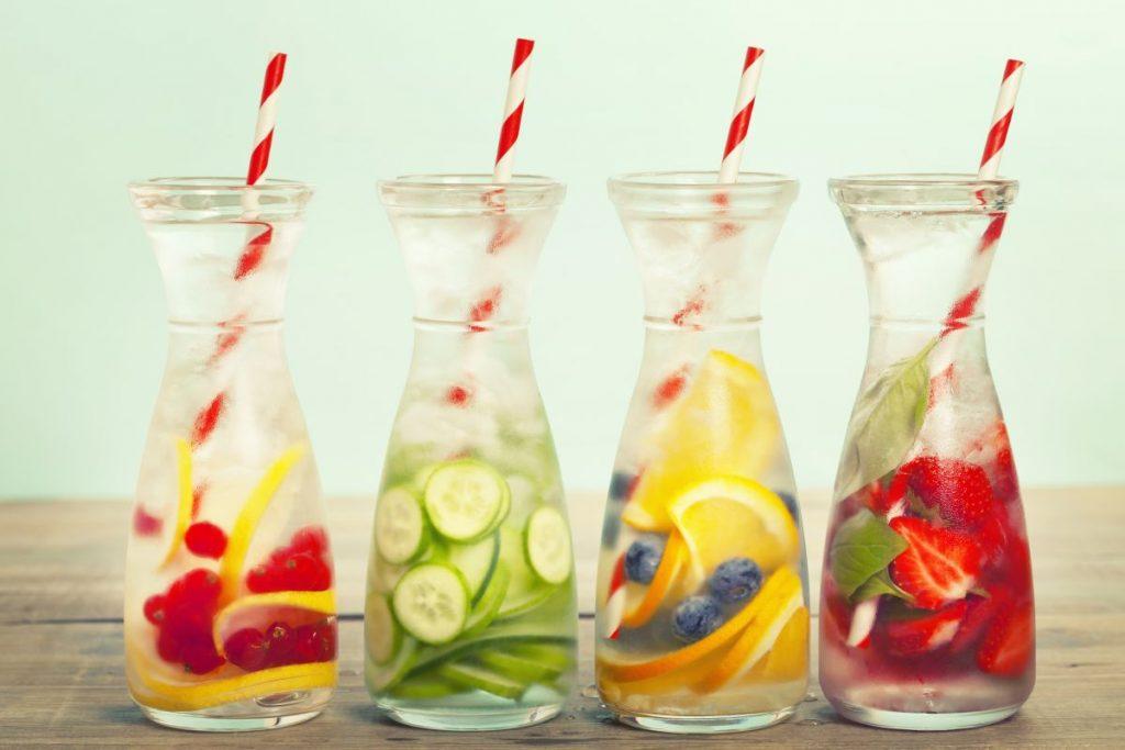 beber água no tempo seco