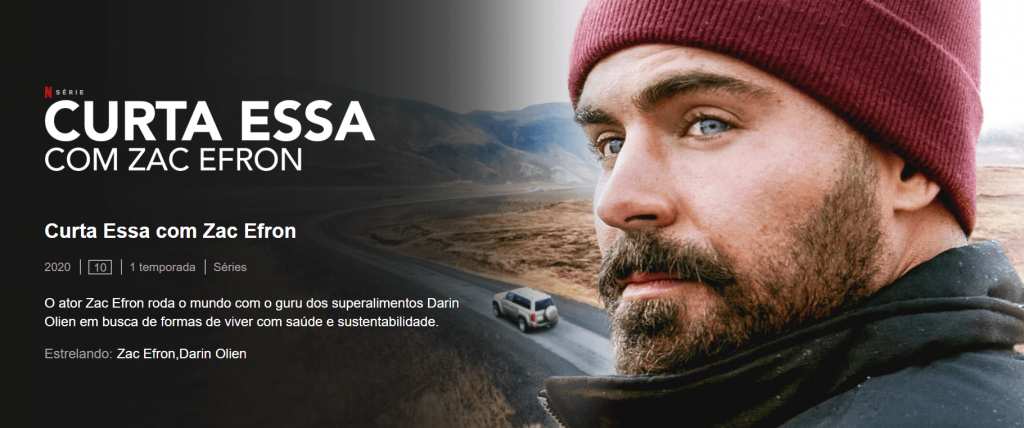 série sobre viagens na Netflix