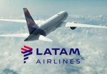 aviões da Latam