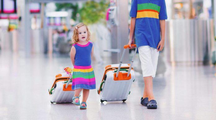 quando for viajar com as crianças