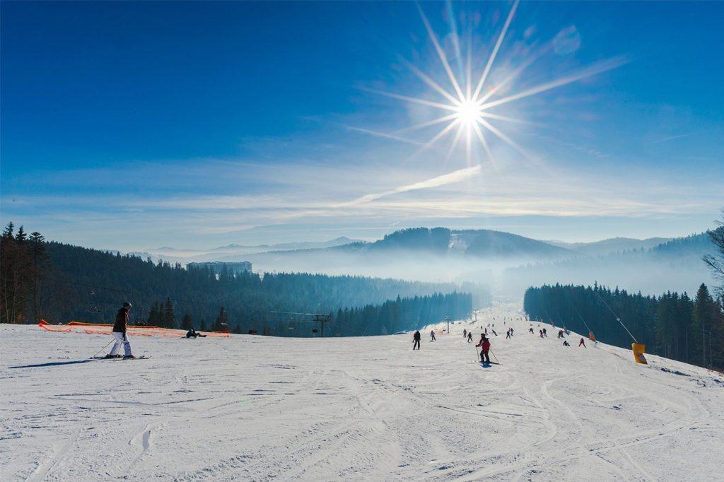 termos comuns no esqui na neve