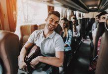 viagens de ônibus no interior de São Paulo