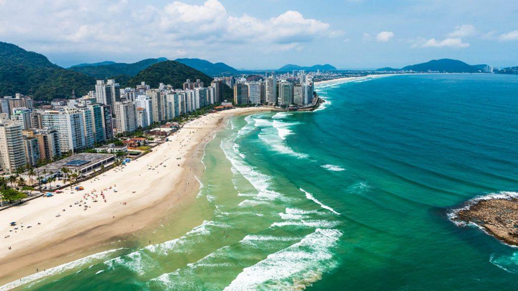 praias do litoral de São Paulo para visitar de ônibus