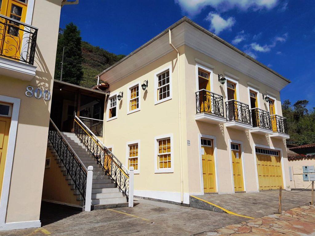 opções de pousadas em Ouro Preto
