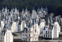 castelos abandonados na Turquia