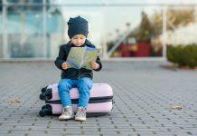 lugares para viajar com bebês de 2 anos