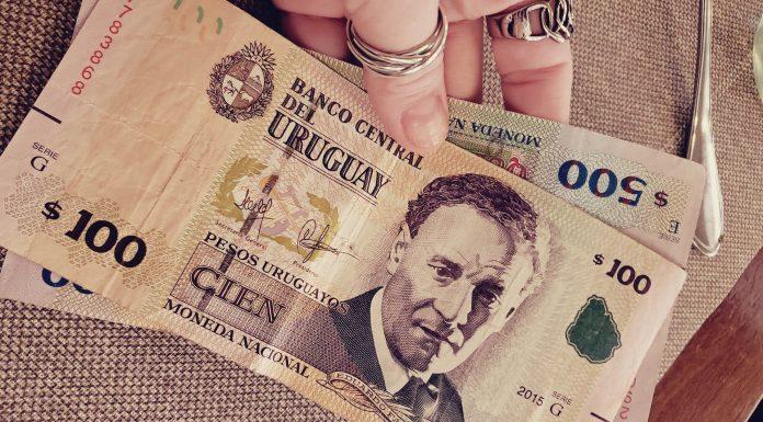 Dinheiro para o Uruguai