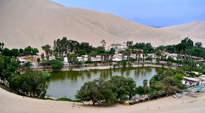 como ir para Huacachina